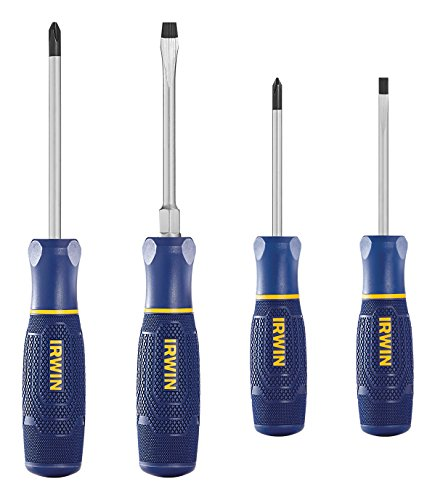 IRWIN Screwdriver Set, 4 Piece (1948799)