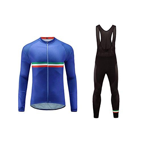 Uglyfrog Ropa Ciclismo Hombre Invierno Lana Calentar Maillot Conjunto Ciclismo Culotte Cycling...