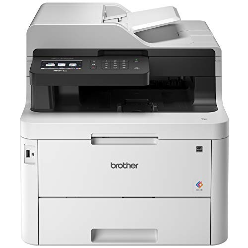 "Brother MFC-L3770CDW Compact Wireless Digital Color All-in-One Printer with NFC, 3.7"" Color..."