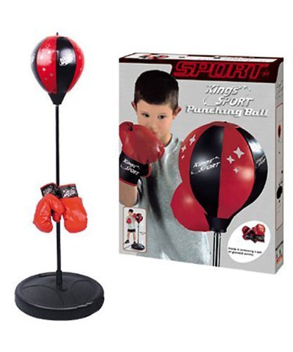 Kings Sport Boxing Punching Bag With Gloves Punching Ball for Kids 43
