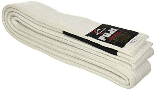 FUJI boys – Premium Cotton Blend BJJ Belt , White, A3