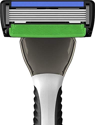 SWIPE Premium Men's 6-Blade Razor Kit (Flex Head Handle + 16 Refills)