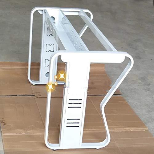 Tafelpoten FANYY Conferentietafel steunstandaard, Opvouwbare tafelplank, Vlinderstandaard, Industrieel ontwerp voor salontafels, moderne bureaus en thuis