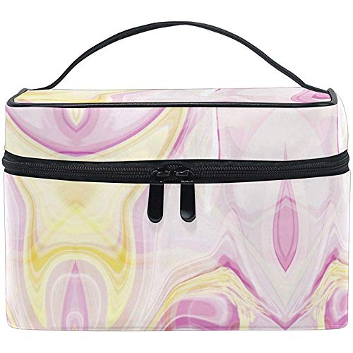 Trousse de Maquillage Rose Vintage Flower Travel Cosmetic Bags Organizer Train Case Toiletry Make Up Pouch