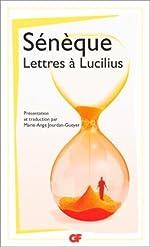 Lettres à Lucilius (1-29) de Sénèque