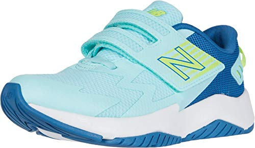 New Balance Kid's 574 V1 Leather Lace-Up Sneaker, Oyster Pink, 3 W US Infant