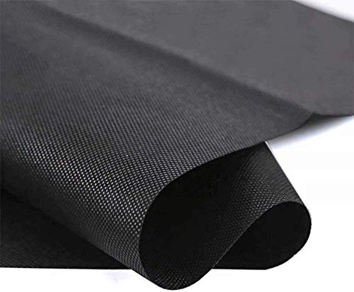 Agfabric Landscape Weed Barrier Fabric Heavy Duty Non-Woven Ground Cover Fabric for Gardening Mat 2.3Oz 3x5ft Soil Erosion Control and UV Stabilized Weed Block for Raised Bed
