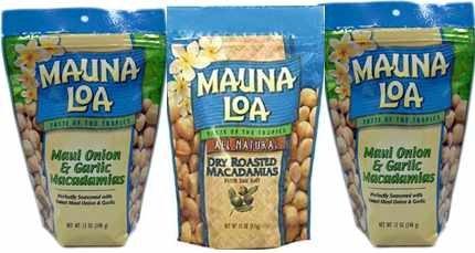 マウナロア マウイ スタンドアップバッグ【311g ×3袋】・・・お好きなスタンドアップバッグをご自由に【3袋】選べます。 【ガーリック】2袋・【ドライロースト】1袋