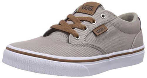 Vans Y Winston, Unisex Kids' Hi-Top Sneakers, Beige (Twill Goat/Da), 4.5 UK