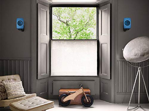 KEF LSX B1 - Soporte de Pared, Color Plateado
