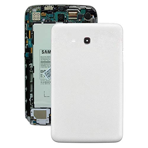 YANGJ Battery Back Cover for Galaxy Tab 3 V T110 (White) (Color : White)