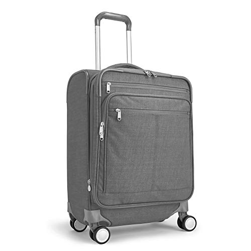 eBags Piazza Carry-On Spinner 22 Inch (Heathered Graphite)