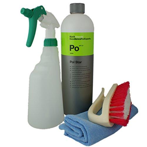 Koch Chemie PolStar Set mit Sprühflasche,Polsterbürste & Tuch