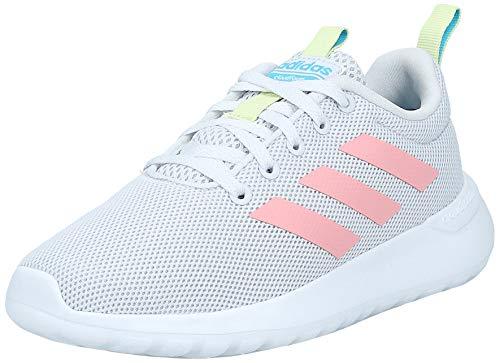 adidas Unisex-Kinder Lite Racer CLN K Laufschuh, Dash Grau Glory Pink Gelbstichig, 34 EU