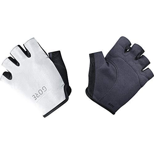 GORE Wear C3 Unisex Kurzfingerhandschuhe, 6, Schwarz/Weiß