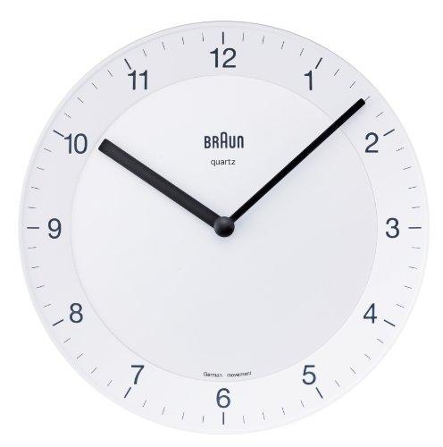 【正規輸入品】 BRAUN(ブラウン) 壁掛け時計 BNC006WHWH