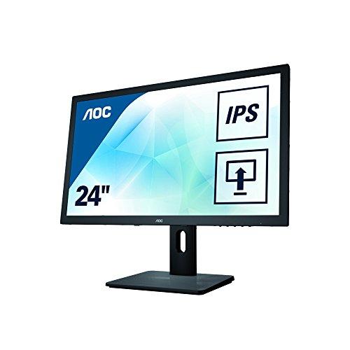 mächtig der welt AOC I2475PRQU 61 cm (24 Zoll) Monitor (DVI, HDMI, USB, DisplayPort, 1920 x 1200, 60 Hz, Drehpunkt)…