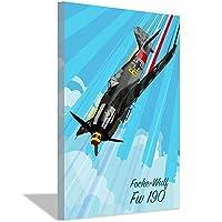 航空機ポップキャンバスアートポスターキャンバス壁画画像印刷絵画ホームオフィス装飾ギフト