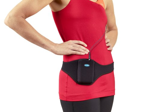 Tune Belt Microphone Belt - Vertical Mic Transmitter Carrier Pouch, Holster Pack Securely Holds and Protects - For Fitness Instructors, Theater, Speakers and more