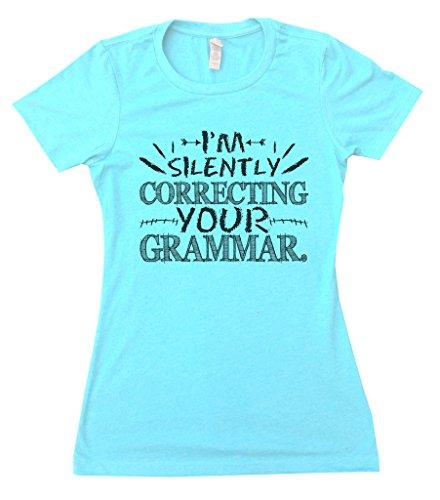 Womens English Teacher Funny T-Shirt I