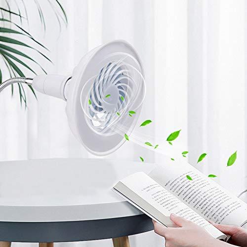 Lhuaguo 2in1Lüfterlicht,Tischventilator,Deckenventilator Mit LED-Licht,Wird Für Den Home-Office-Nachtmarkt Verwendet