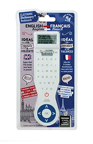 Electronic Dictionary Bookmark (Translation Edition) - French-English