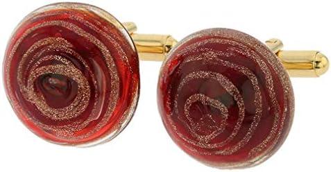gemelos de cristal de murano