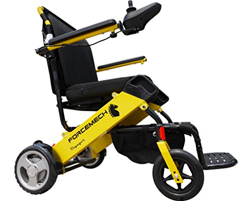 Forcemech Voyager - Ultra Portable Folding Power Wheelchair - Airplane and Cruise Travel Approved (VGR One)
