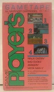 Game Player's Ninja Gaiden / Amagon / Bad Dudes / Airwolf  VHS