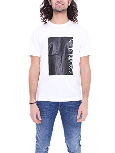 Calvin Klein K10K105169 Logo Cut - Camiseta para hombre