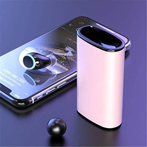 Wttfc Poder Bank6000mAh Banco de la energía inalámbrica Bluetooth V5.0 Auricular Impermeable...