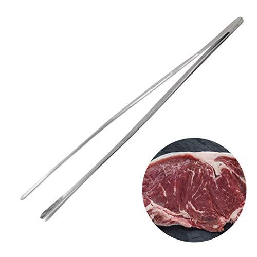 dedepeng accessoire de barbecue / grill / salade / cuisine Serving / outil de cuisine / acier inoxydable résistant à la chaleur Clip BBQ Tongs Barbecue Accessoires Tweezer Chef Portable