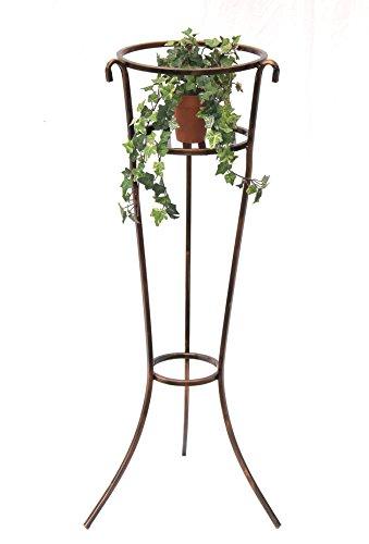 DanDiBo Blumensäule Metall 100 cm Blumenständer Art.249 Blumensäule Pflanzenständer Blumenhocker