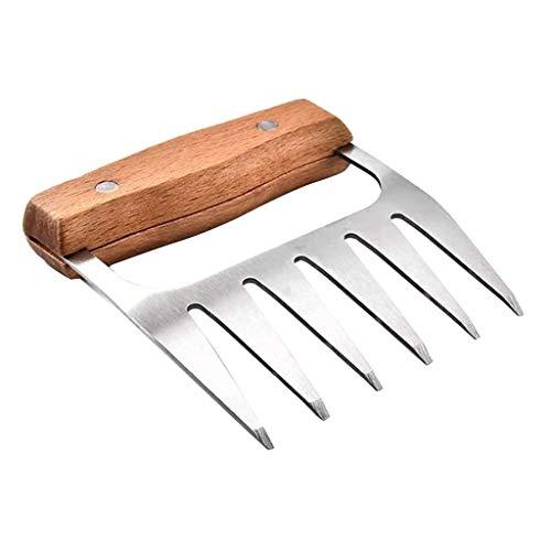 Sharplace Griffes de Viande Fourchettes Barbecue Ours Empreintes Résistance à La Chaleur