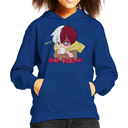 My Hero Academia Hotto Chokoretto Kid's Hooded Sweatshirt