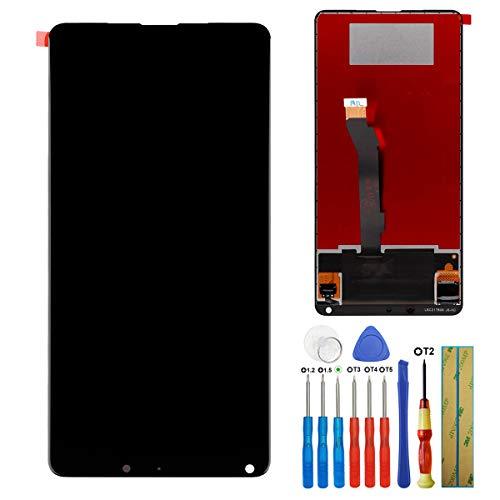 E-YIIVIIL Pantalla LCD táctil compatible con Xiaomi MI Mix 2S Mimix 2S M1803D5XA de 5,99 pulgadas, con herramientas