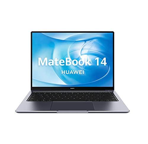 "Huawei Matebook 14 - Ordenador Portátil Ultrafino de 14"" FullHD (AMD R5 4600H, 8GB RAM, 512GB SSD, AMD Radeon™ Graphics, Windows 10 Home) Space Grey - Teclado QWERTY Español"