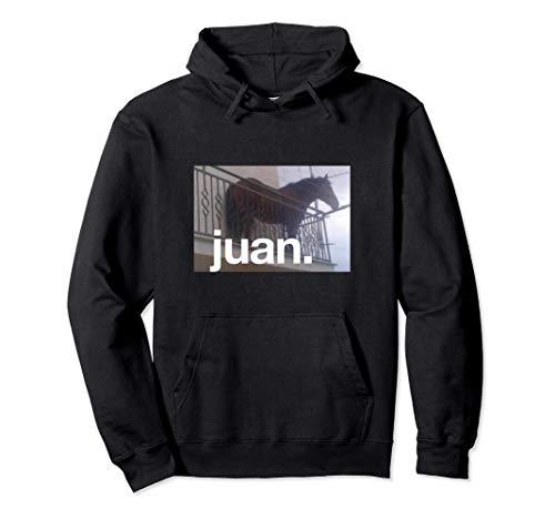 Juan Meme Horse On Balcony Meme Pullover Hoodie