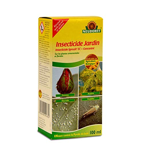 Anti pucerons et insectes Insecticide Jardin concentré à l'extrait de pyrèthre UAB 100 ML