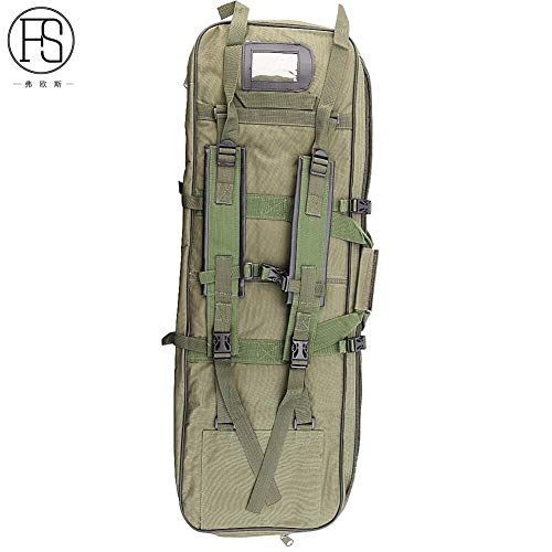 Vioaplem Bolsa Táctica Militar Deportes Al Aire Libre Airsoft Caza Bolsa Ejército De Los 81CM Plaza Carry Bolso del Arma De Pesca Viajar Protección Mochila