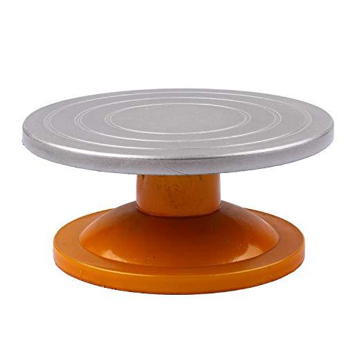 SKVVIDY Torno Alfarero Cerámica 12in Diámetro Rueda de Escultura Mini Arcilla Haciendo Turdable de la Rueda de cerámica con rodamientos de Bolas Torno De Alfarero (Color : A)