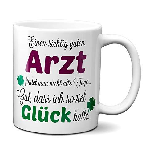 TassenKing(TM) - Einen guten Arzt. - Tasse - Kaffeebecher - Tasse mit Spruch