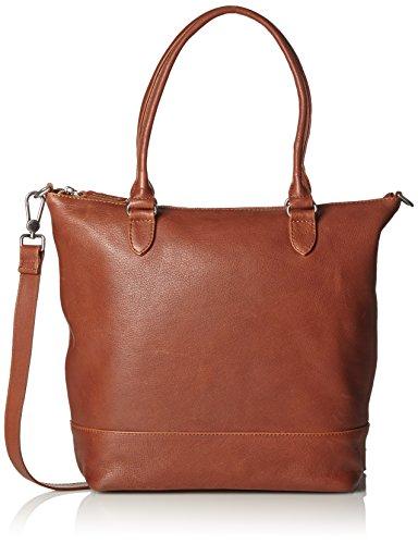 Amsterdam Cowboys Damen Bag Swindon Schultertaschen, Braun (Cognac 300), 32x32x10 cm