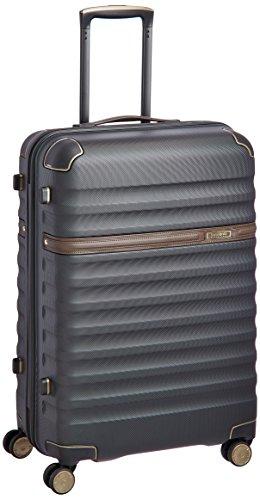 Samsonite Polycarbonate 68 cms Black Hard sided Suitcase (89S (0) 59 002)