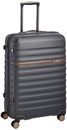 Samsonite Polycarbonate 68 cms Black Hard sided Suitcase (89S (0) 59 002)