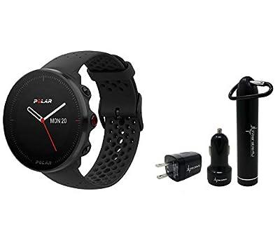 Polar Vantage M Advanced Multisport GPS Watch and Wearable4U Ultimate Power Pack Bundle
