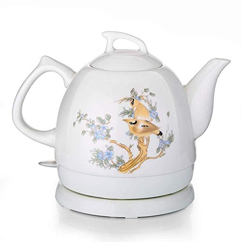 Bouilloires en céramique bouilloire électrique sans fil eau Teapot Teapot-rétro 1L rapide 8bayfa