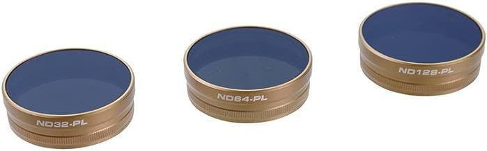 PolarPro Artisan Collection Filter 3-Pack (ND32/PL, ND64/PL, ND128/PL) - for DJI Phantom 4 Pro/Adv (Long Exposure Photography)