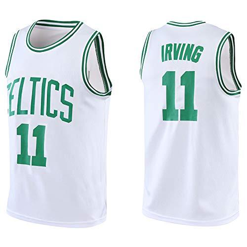 Z/A Brooklyn Nets Kyrie Irving # 11 Basketball Uniform Anzug benutzerdefinierte Sport der Männer Ausbildung Team uniform Student Jersey,Weiß,M