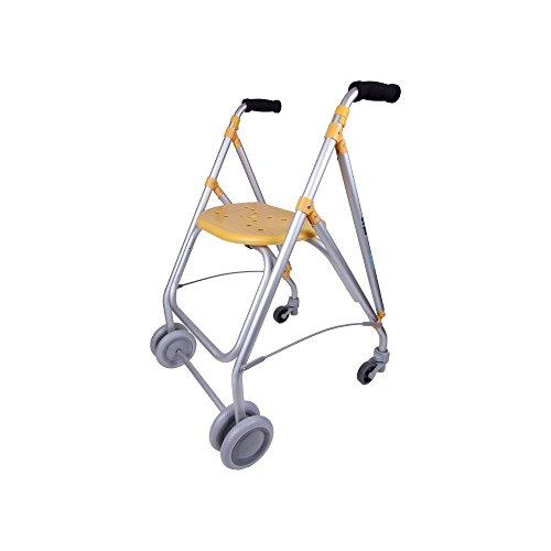 Forta fabricaciones - Andador de aluminio para ancianos ARA-PLUS - Vainilla